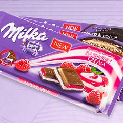 free milka chocolate