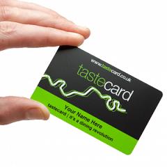 taste card offer