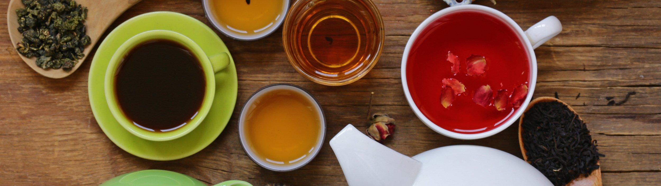 Multiple tea samples