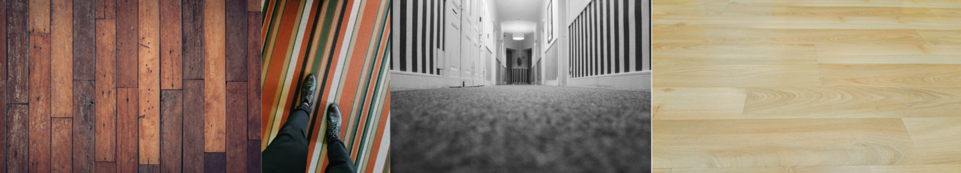 carpet and vinyl flooring samples